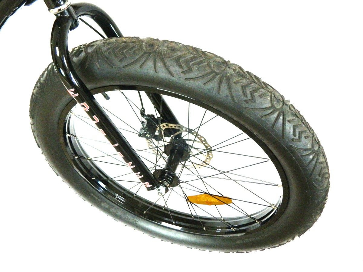 Fat Tire Front Wheel Equalizer Electric Bicycles