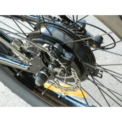 Fat Bike Rear Wheel w/ 500 Watt Hub Motor