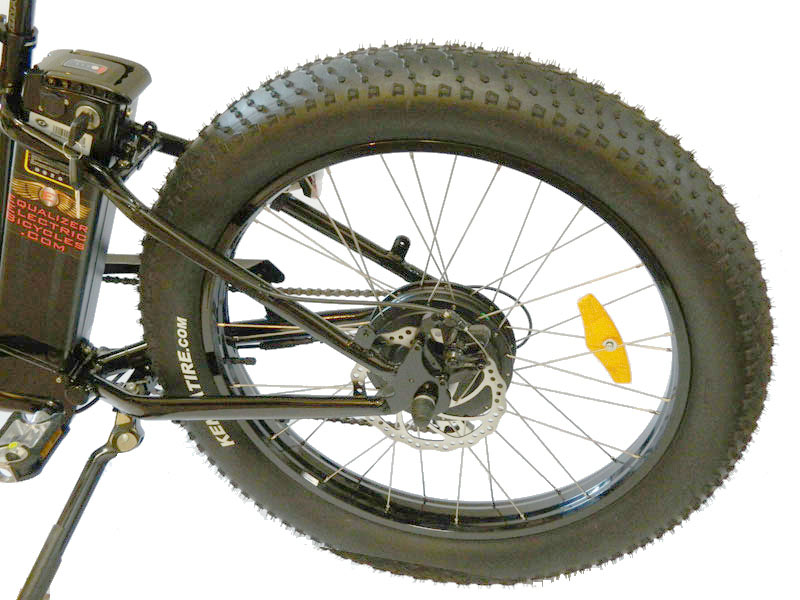 Electric Fat Tire Bike Left Side