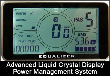 LCD Display Power Management System